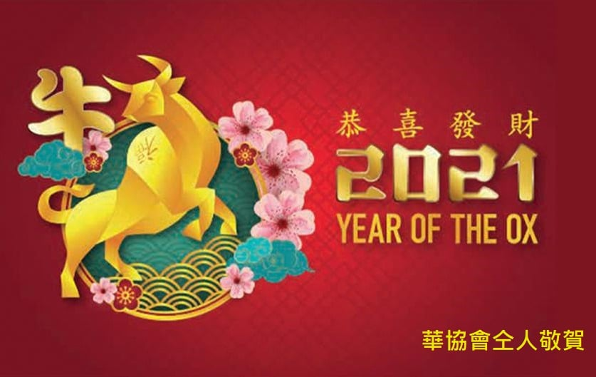 Happy Year of Ox 2021